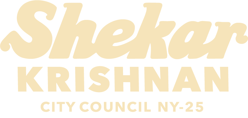 Shekar Krishnan for City Council NY-25